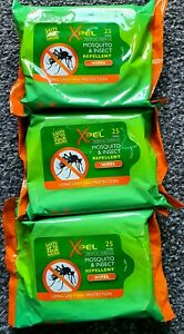 75X WIPES Anti Mosquito & Insect Repellent Long Lasting Protection against bite