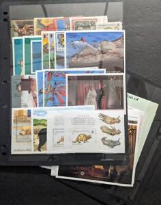 EDW1949SELL : TURKS & CAICOS Collection between 1989-1997 of all VF MNH Cat $341