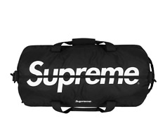 Supreme Waterproof Cordura Duffle Bag Black. SS17. New In Plastic