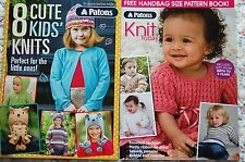 4 Knit Today Patons Pattern booklets Cute Kids Cosy Quick Easy Knitting Cardigan