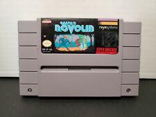 Captain Novolin (Super Nintendo SNES) AUTHENTIC! CART! TESTED! US VERSION!