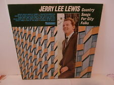 """jerry lee lewis""""country songs for city folks.lp12"""".or.usa.smash mono:27071."""