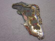 Vintage Souvenir Metal Ashtray Collector Plate (Japan) FLORIDA