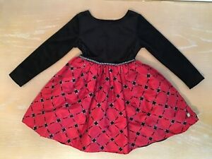 Youth Girl's Dollie & Me Black/Red Dress Size 5