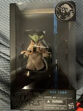 Hasbro The Black Series 6 Yoda 6 Inch Action Figure #06 BLUE LINE