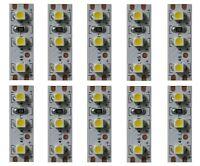 S355 - 10 Stück MINI LED Hausbeleuchtung 2,5cm WEIß SMD für Häuser Waggons Autos