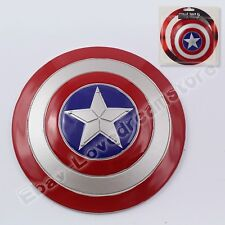 Super Hero Civil War Captain America Shield 10cm/4'' Metal New In Box