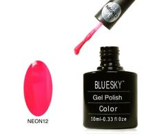 Bluesky UV LED Soak Off Nail Polish Neon 12  Shocking Pink 10ml