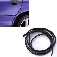 2M Black Moulding Trim Strip Car Door Scratch Protector Edge Guard Rubber Strip