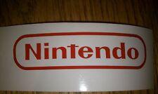 Nintendo sticker decal NES