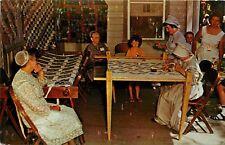 Pennsylvania Dutch Women Patch Quilts Landis Valley Farm Lancaster Pa Postcard