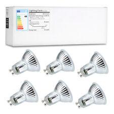 6X Lampwin LED Light Bulbs GU10 5W Spotlight AC 100-240V 500LM 6000K 40 Degree