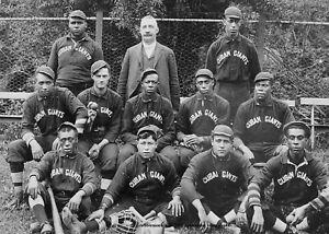 1903 Cuban X Giants Team PHOTO Negro League Baseball Team Black Players