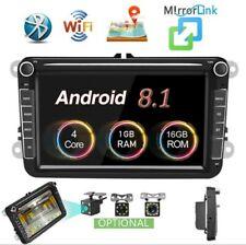 "8"" Android Autoradio stereo 2din gps navi bluetooth wi-fi vw golf 5/6 seat skoda"