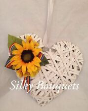 Sunflower Faux Silk Dried & Artificial Flowers