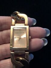 Kenneth Jay Lane Rose Gold Chain Link Watch