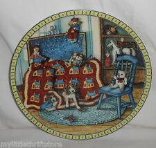 "1991 Knowles 6th Issue Collector's Plate Cozy Country Corners ""Hide and Seek"""