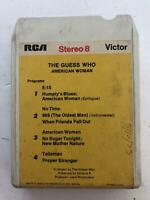 GUESS WHO American Woman 8 Track Tape Original RCA