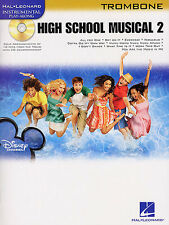 High School Musical 2 Partituras Libro + Cd Para Trombón