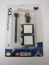 New Nintendo Ds Star Wars Iii Play & Build Kit Lego Stylus Clone Wars Anakin