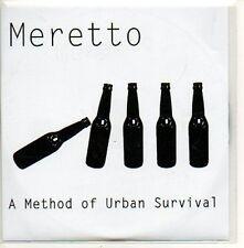 (599D) Meretto, A Method of Urban Survival - DJ CD