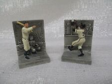 Babe Ruth Willie Mays Longton Crown Baseballs Greatest Moments Pewter Figurines