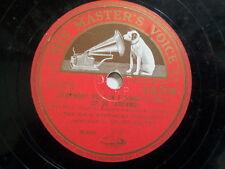 "78 rpm 12"" BRAHMS Symphony 4 in E minor Op 98 , DB7719"