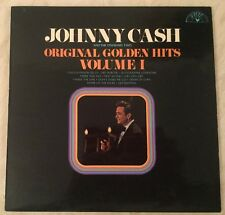JOHNNY CASH ORIGINAL GOLDEN HITS VOLUME ONE SUN LABEL UK VINYL LP Record 1969
