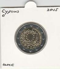 Cyprus 2 euro 2015 UNC : Europese Vlag