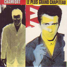 ☆ CD Single Alain CHAMFORT Le plus grand chapiteau 3T ☆