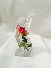 REAL ROSES ORNAMENT PAPERWEIGHT (HAND MADE)