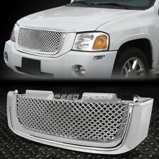 02-08 GMC ENVOY CHROME FRONT HOOD BUMPER BENTLEY STYLE GRILL/GRILLE COVER GUARD
