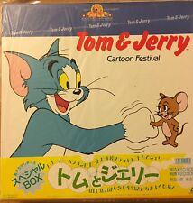Laserdisc Japanese Tom And Jerry Cartoon Festival With OBI