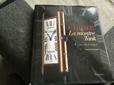 CARTIER LA MONTREAL TANK BY FRANKO COLOGNI ( WITH DUST COVER )