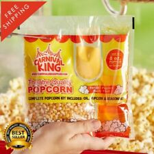 24 Pack All In One Large Butterfly Popcorn Kit for 8 Oz to 10 Oz Poppers Butter
