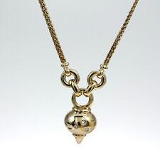 Sehr schönes Collier in 585 Gelbgold mit Brillant 0,05 ct w.si