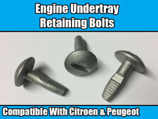 10x Clips For Citroen & Peugeot Engine Undertray Shield Fixing Retaining Bolts