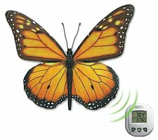Wireless Butterfly Thermometer Indoor Outdoor PRETTY!