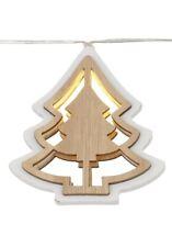 LED Lichterkette Weihnachtsbaum Motiv HOLZ Beleuchtung DEKO X-MAS 69428621