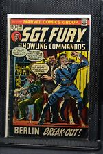 Sgt Fury and His Howling Commandos #103 Marvel Comic 1972 Stan Lee Ayers 4.0