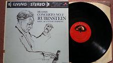 LSC-2296 Brahms: Concerto No.2- Rubinstein- Krips RCA Living Stereo LP