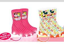 LED Gummistiefel Mickey Minnie Mouse 26 28 30 31 Disney Regenstiefel Regenboots