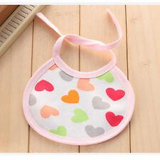10Pcs Baby Boys Girls Cotton Bibs Waterproof Kids-Children Saliva Burp Apron