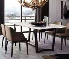 Zilan Dinning Table With White Marble Top( pick up/delivery to Sydney,one left )