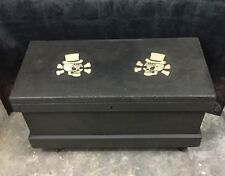 """36"""" Industrial Wooden Carpenter's Tool Chest W/ Casters"""