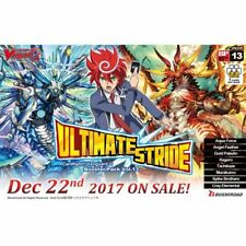 Cardfight Vanguard G Ultimate Stride Booster Box Bushiroad Zeroth