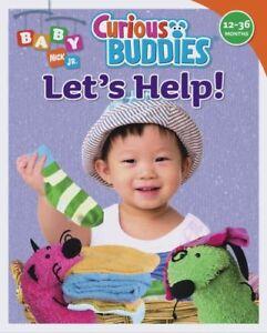 Lets Help!: Curious Buddies (Baby Nick Jr.)