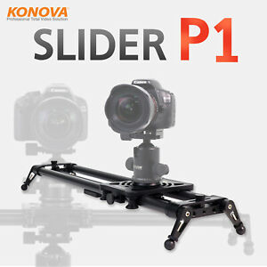 Konova P1 Carbon Camera Slider with Bag Parallax Panorama Stable 4 Sizes exist