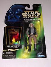 Star Wars Power of the Force Rebel Fleet Trooper green card hologram Kenner 1996