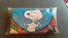 """New Sealed """"Peanuts Celebration!"""" Inflatable Chair - Charlie Brown & Snoopy 2001"""